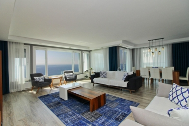 Duplex Apartment with Sea View in Antalya 2