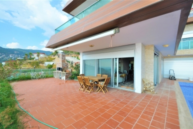 HiLux Sea view Villa for sale in Alanya 5