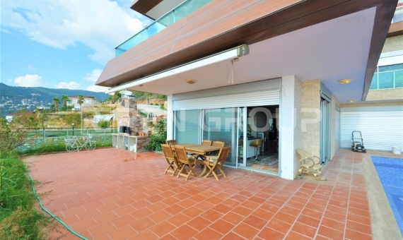 HiLux Sea view Villa for sale in Alanya 4