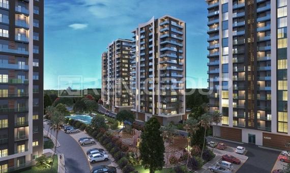 فروش اقساطی بدون بهره آپارتمان های مدرن در آنتالیا