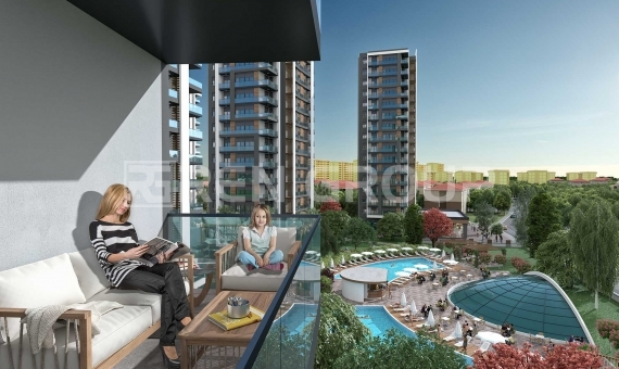 Installment Apartments for sale in antalya