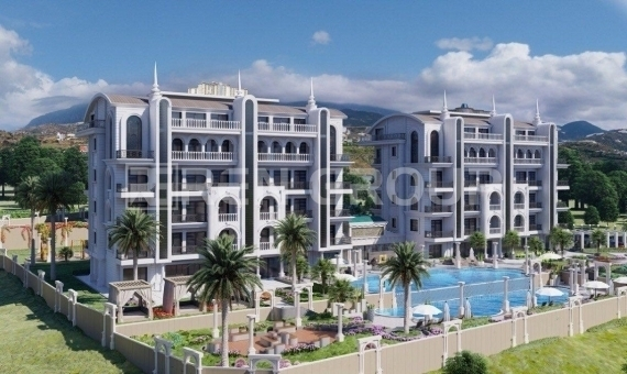 Stylish and Luxurious Complex in the Kargicak region of Alanya