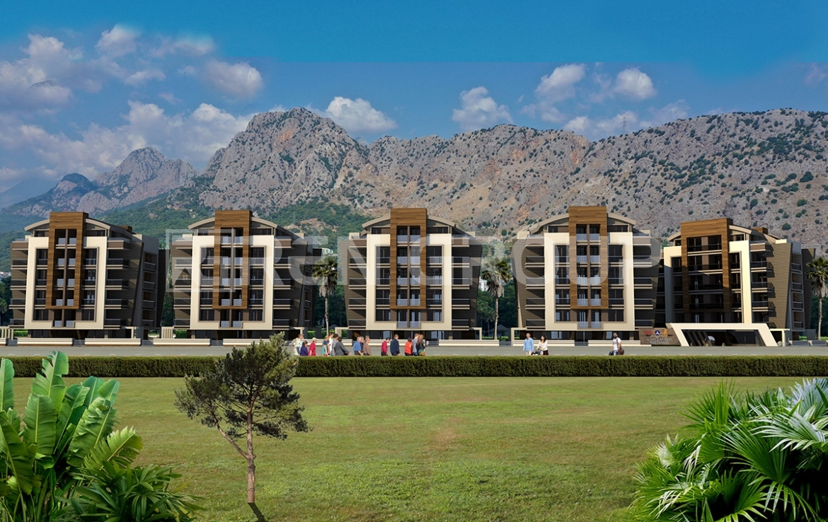 quality apartments in a modern complex in Konyalti Antalya