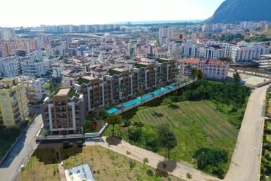 آپارتمان های نوساز و با کیفیت در مجتمع مدرن در کنیالتی آنتالیا