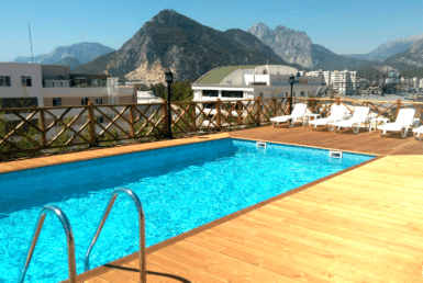 1 bedroom apartment in sea view complex, Konyalti, Antalya