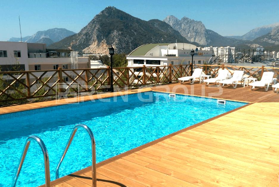 1 bedroom apartment in sea view complex, Konyalti, Antalya