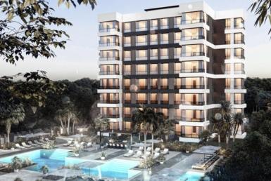 Cheap installment apartments for sale in Aksu Antalya