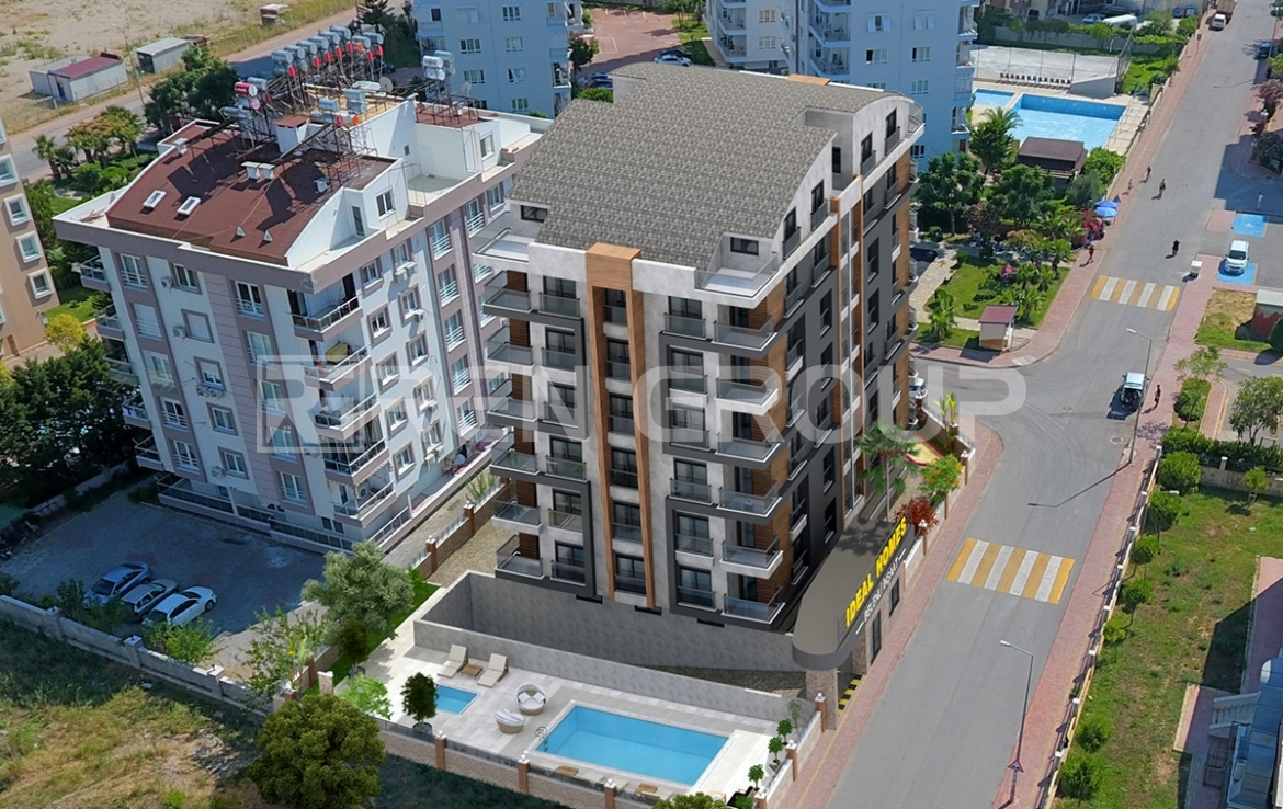 Affordable apartments for sale in Konyaalti, Antalya