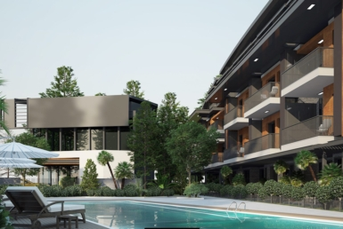 Pre sale of new apartments in Lara Antalya