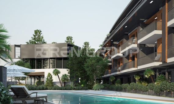 Pre sale of new apartments in Lara Antalya
