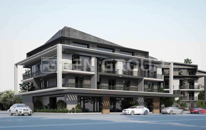 Brand new apartments in Antalya Lara