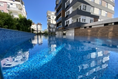 apartments in a newly built complex in Konyaalti Antalya