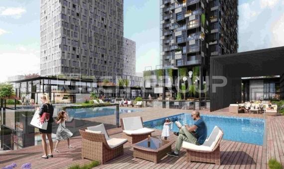 آپارتمان های فوق مدرن باغجیلار استانبول با امکانات منحصر به فرد