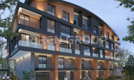 Newly built duplex apartment in Konyaalti Antalya, with Swimming-pool and sauna