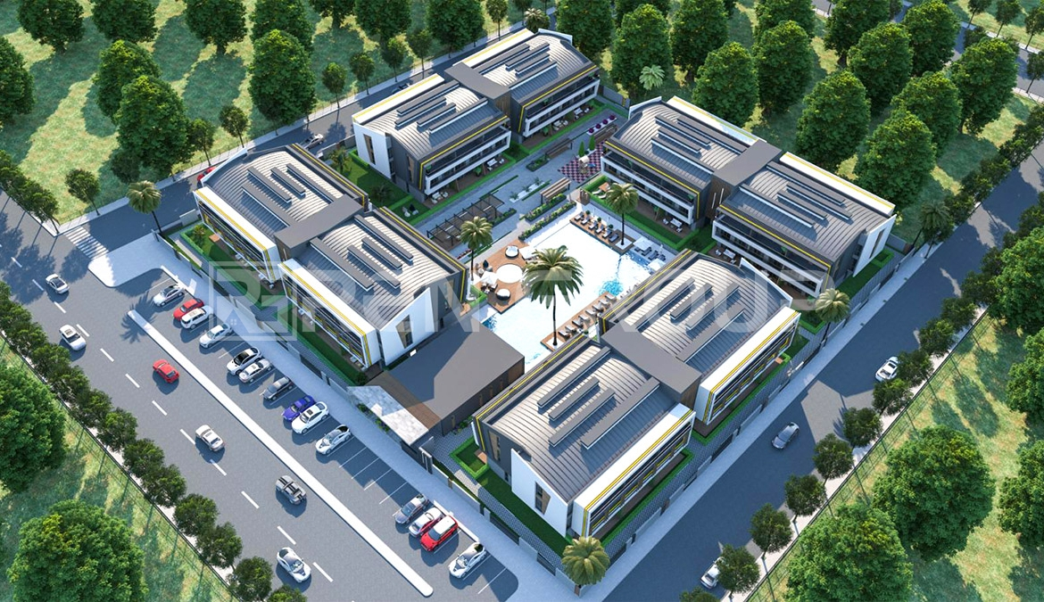 Newly built apartments with unique welfare services in Lara