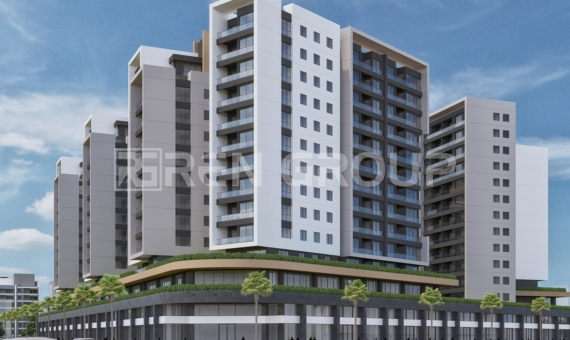 Apartments in the center of Antalya, with extremely attractive design