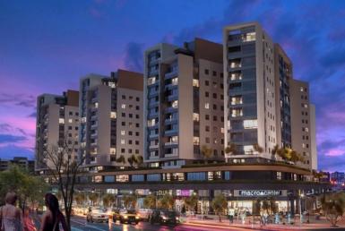 آپارتمان های در مرکز شهر آنتالیا، با طراحی و معماری فوق العاده جذاب