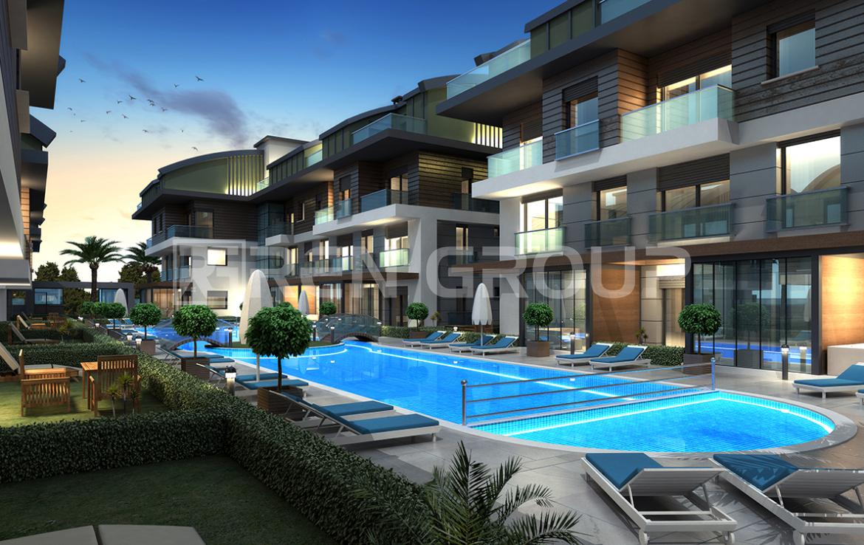 Cozy apartments near the sea in Lara Antalya