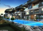 Cozy apartments near the sea in Lara Antalya