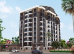 New apartments for sale in Konyaalti Antalya with outdoor pool