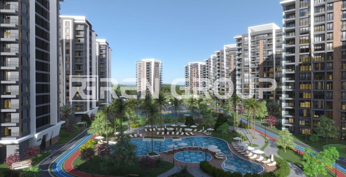 Buy a new apartment with installment terms in Dusemalti Antalya