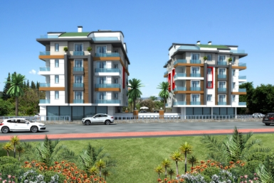 آپارتمان های نوساز در حورما، نزدیک به بندر آنتالیا