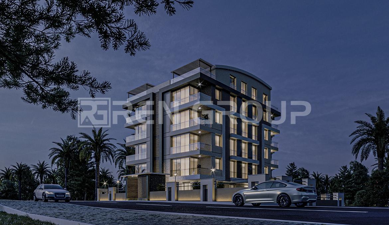 فروش خانه های نوساز در کنیالتی آنتالیا با طراحی عالی