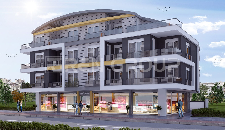 New built duplex property with sauna and swimming pool in Antalya Konyaalti