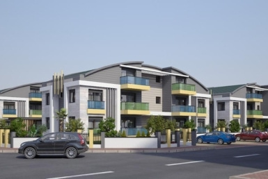 آپارتمان های خوش ساخت در سیده آنتالیا