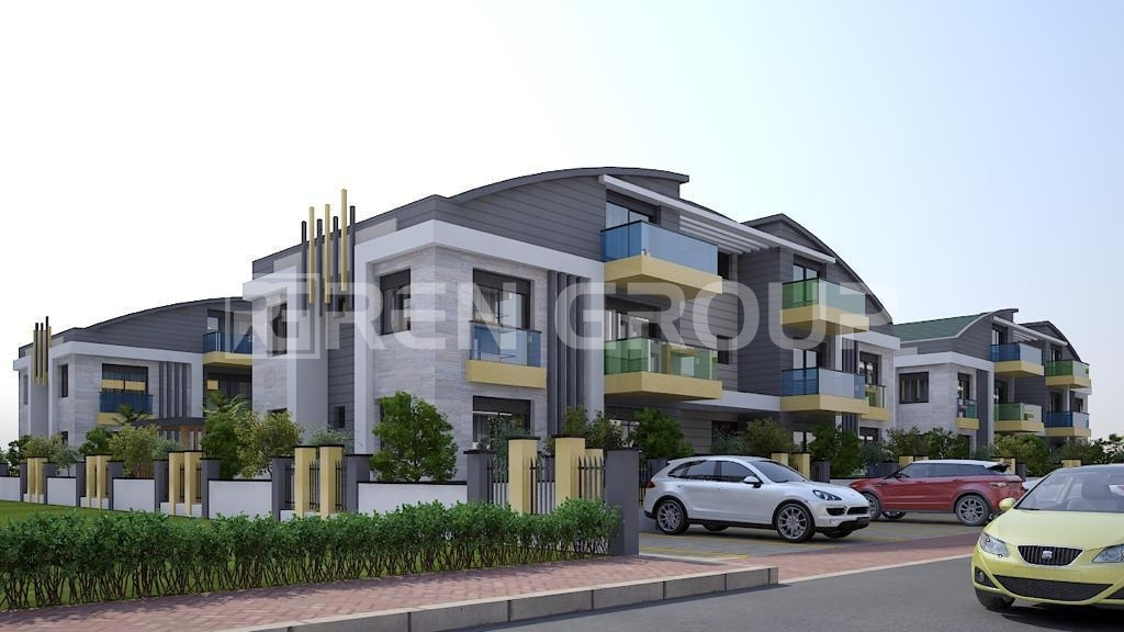 Well-built apartments in Side Antalya