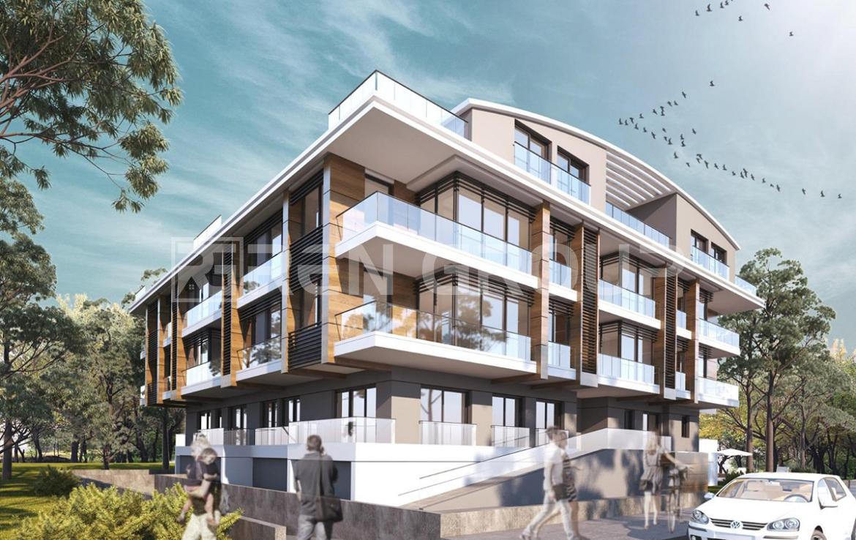 مجموعه آپارتمان های نوساز با دید کوه و جنگل در آنتالیا
