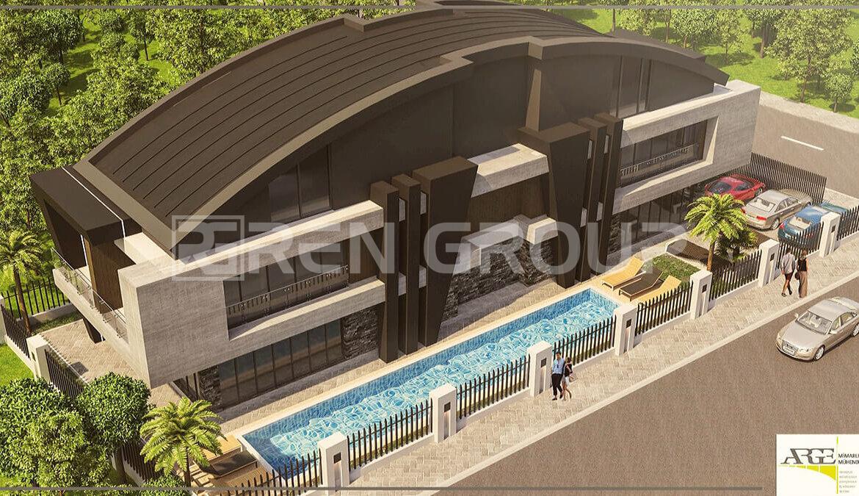 Fully furnished apartments in Ermenek Antalya
