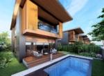 Installment purchase of villas near the river in Belek Antalya