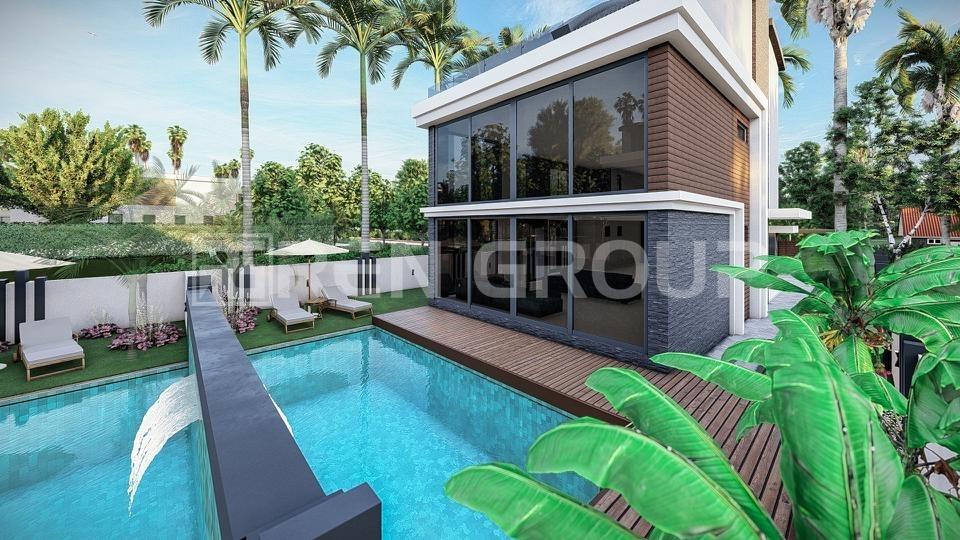 Super luxury triplex Villas in Lara Antalya