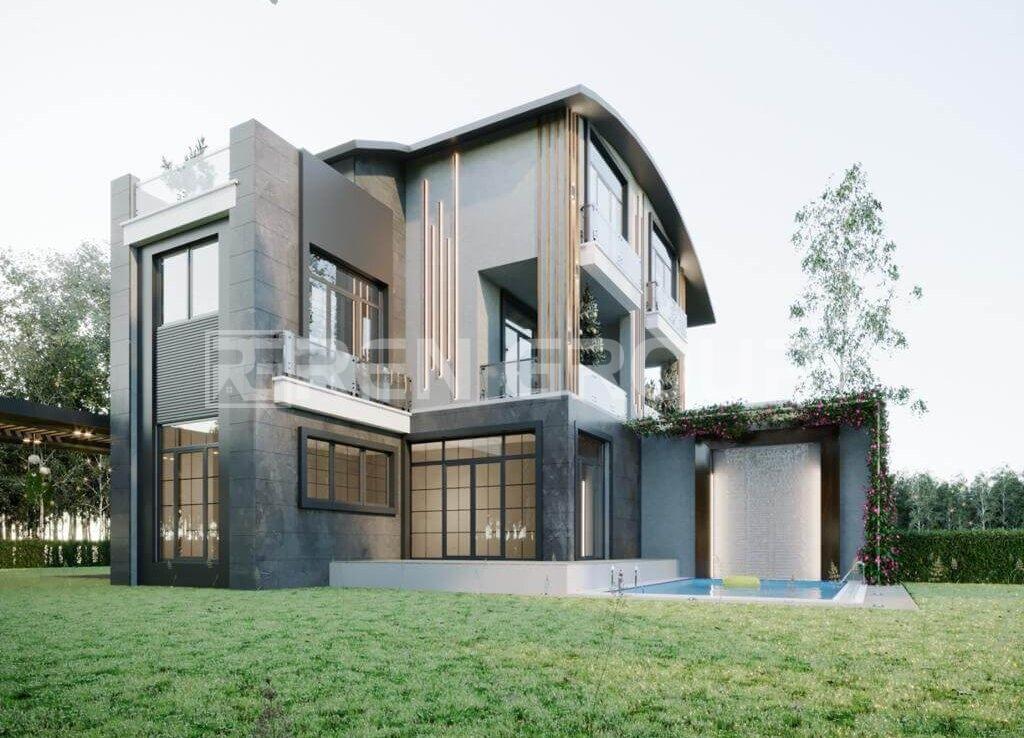 4 bedroom detached villa in Belek Antalya