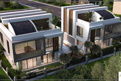 Super luxury smart villas in Antalya
