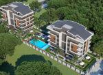 Luxury apartments in a great location in Konyaalti Antalya
