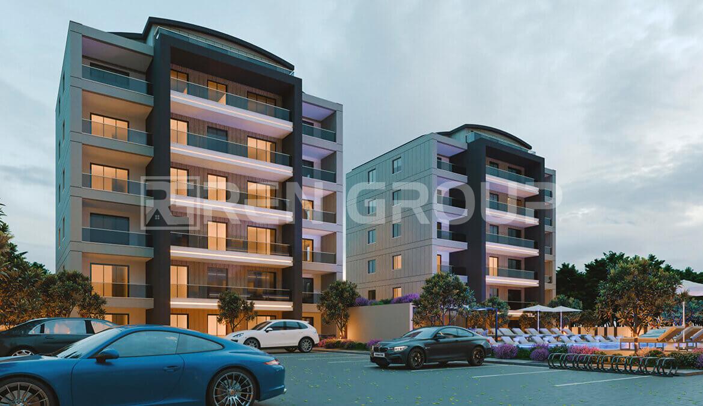 Pre-sale of Smart apartments in Aksu area of Antalya