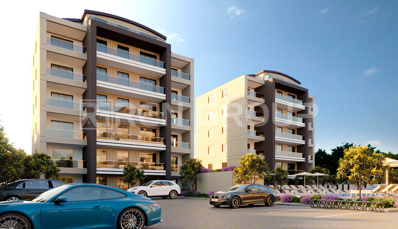 پیش فروش آپارتمان های هوشمند در منطقه آکسو آنتالیا